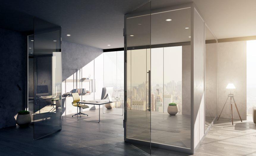 Instalación de Cristal templado y laminado en Carpintería de aluminio Bellavista en Barcelona